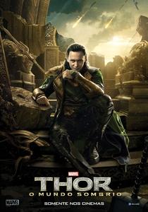 Thor: O Mundo Sombrio - Poster / Capa / Cartaz - Oficial 3