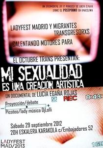 Mi sexualidad es una creación artística - Poster / Capa / Cartaz - Oficial 1