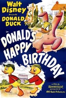 Feliz Aniversário Donald - Poster / Capa / Cartaz - Oficial 1
