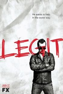 Legit (1ª Temporada) - Poster / Capa / Cartaz - Oficial 1