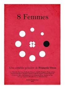 8 Mulheres - Poster / Capa / Cartaz - Oficial 5