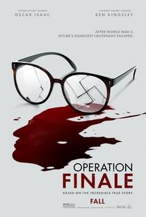 Operação Final - Poster / Capa / Cartaz - Oficial 1