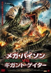 Mega Python vs. Gatoroid - Poster / Capa / Cartaz - Oficial 2