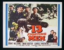 13 Homens de Combate - Poster / Capa / Cartaz - Oficial 1