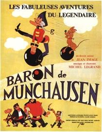 As Fabulosas Aventuras do Lendário Barão De Munchausen - Poster / Capa / Cartaz - Oficial 1