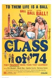 Class of '74 - Poster / Capa / Cartaz - Oficial 1