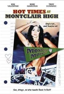 Hot Times at Montclair High - Poster / Capa / Cartaz - Oficial 1