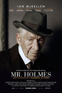 Sr. Sherlock Holmes - Poster / Capa / Cartaz - Oficial 2