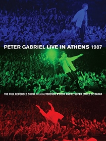 Peter Gabriel: Live in Athens 1987 - Poster / Capa / Cartaz - Oficial 1