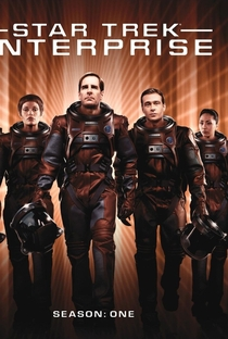 Jornada nas Estrelas: Enterprise (1ª Temporada) - Poster / Capa / Cartaz - Oficial 2
