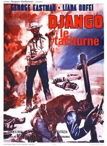 Django Mata em Silêncio - Poster / Capa / Cartaz - Oficial 1
