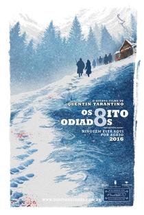Os Oito Odiados - Poster / Capa / Cartaz - Oficial 4