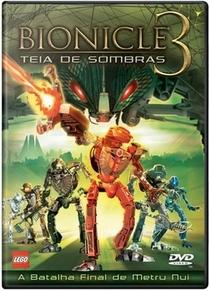 Bionicle 3 - Teia de Sombras - Poster / Capa / Cartaz - Oficial 1
