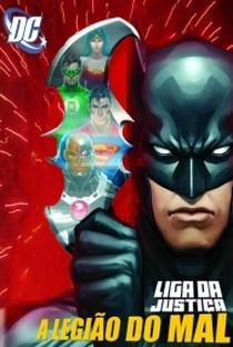 Liga da Justiça: A Legião do Mal - Poster / Capa / Cartaz - Oficial 2