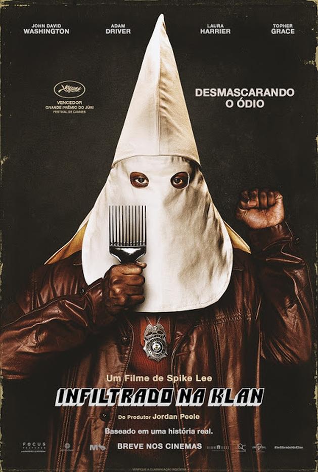 """Trailer: Vencedor do Grande Prêmio do Júri, """"Infiltrado na Klan"""" ganha trailer e cartaz oficial"""