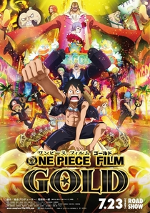 One Piece 13 - Gold - Poster / Capa / Cartaz - Oficial 1