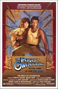 As Aventuras de Gwendoline no Paraíso - Poster / Capa / Cartaz - Oficial 3