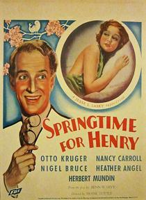 Springtime for Henry - Poster / Capa / Cartaz - Oficial 1