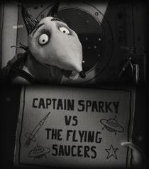 O Capitão Sparky Contra os Discos Voadores - Poster / Capa / Cartaz - Oficial 1