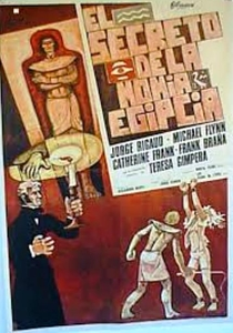 El Secreto de la Momia Egipcia - Poster / Capa / Cartaz - Oficial 1