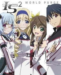 IS: Infinite Stratos 2 - World Purge-hen Ova - Poster / Capa / Cartaz - Oficial 1