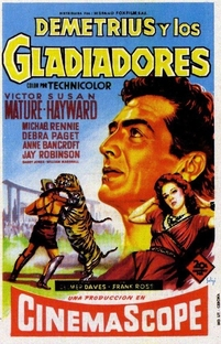 Demétrio E Os Gladiadores - Poster / Capa / Cartaz - Oficial 5