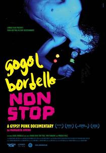 Gogol Bordello Non-Stop - Poster / Capa / Cartaz - Oficial 1