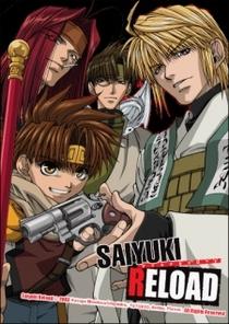 Saiyuki Reload - Poster / Capa / Cartaz - Oficial 1