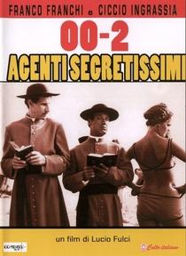 00 – Dois Agentes Secretíssimos - Poster / Capa / Cartaz - Oficial 1