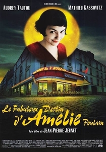 O Fabuloso Destino de Amélie Poulain - Poster / Capa / Cartaz - Oficial 2