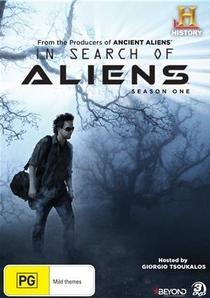 Em Busca de Alienígenas  - Poster / Capa / Cartaz - Oficial 1