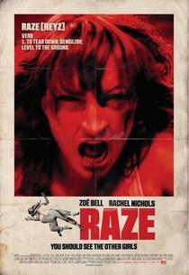 Raze - Lutar ou Correr - Poster / Capa / Cartaz - Oficial 4