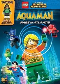 LEGO DC Comics Super Heróis - Aquaman: A Fúria de Atlântida - Poster / Capa / Cartaz - Oficial 2