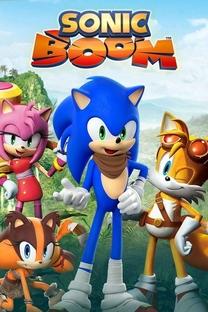 Sonic Boom (1ª Temporada) - Poster / Capa / Cartaz - Oficial 1