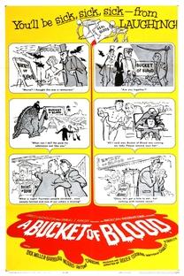 Um Balde de Sangue - Poster / Capa / Cartaz - Oficial 1