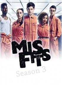 Misfits (3ª Temporada) - Poster / Capa / Cartaz - Oficial 2