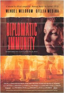 Imunidade Diplomática - Poster / Capa / Cartaz - Oficial 1