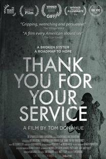 Thank You For Your Service - Poster / Capa / Cartaz - Oficial 1