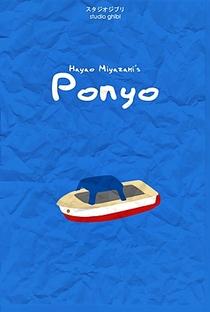 Ponyo: Uma Amizade que Veio do Mar - Poster / Capa / Cartaz - Oficial 8