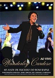 Wanderley Cardoso - Ao Vivo - Poster / Capa / Cartaz - Oficial 1