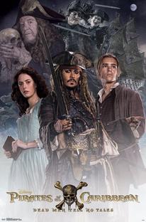 Piratas do Caribe: A Vingança de Salazar - Poster / Capa / Cartaz - Oficial 5