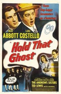 Abbott e Costello - Agarra-me Esse Fantasma - Poster / Capa / Cartaz - Oficial 1