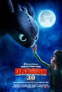 Como Treinar o seu Dragão - Poster / Capa / Cartaz - Oficial 1