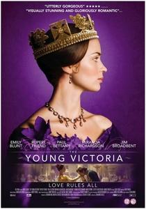 A Jovem Rainha Vitória - Poster / Capa / Cartaz - Oficial 1