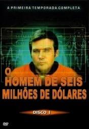O Homem de Seis Milhões de Dólares (1º Temporada)  - Poster / Capa / Cartaz - Oficial 2