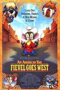 Um Conto Americano: Fievel Vai Para o Oeste - Poster / Capa / Cartaz - Oficial 1