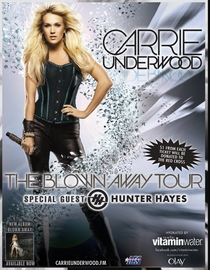 Carrie Underwood – The Blown Away Tour: Live - Poster / Capa / Cartaz - Oficial 2