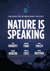 A Natureza Está Falando - Poster / Capa / Cartaz - Oficial 1