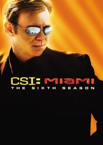 CSI: Miami (6ª Temporada) - Poster / Capa / Cartaz - Oficial 1