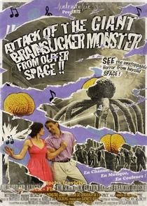 Ataque do Monstro Gigante Sugador de Cérebros do Espaço Sideral - Poster / Capa / Cartaz - Oficial 1